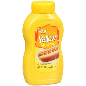 Great Value Yellow Mustard, 8 oz