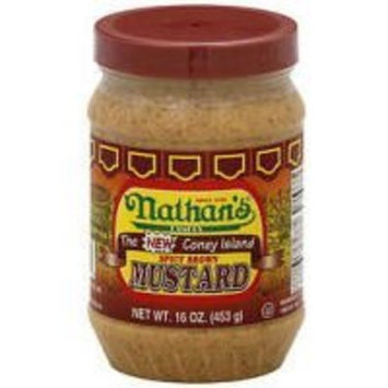 Nathan's Original Spicy Brown Mustard