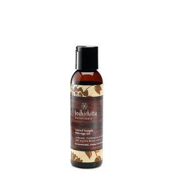 Bodhichitta Botanicals Sacred Temple Massage Oil, 4 Ounce