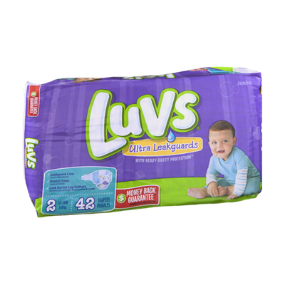 Luvs Ultra Leakguards Size 2 Diapers - 42 CT