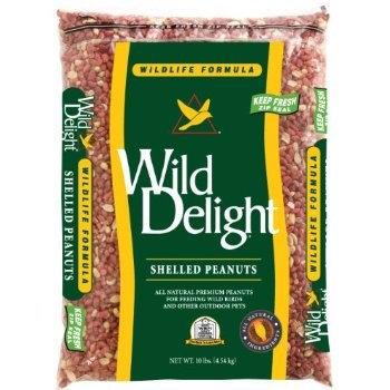 D & D Commodities Wild Delight Wildlife Formula Shelled Peanuts