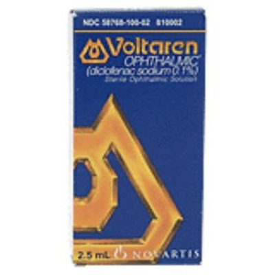 Voltaren Opthalmic Solution 0.1%