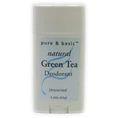 Pure & Basic Deodorant Stick - Unscented, 2.5 oz