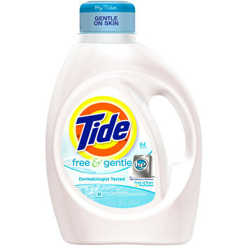 Tide Free & Gentle Liquid Laundry Detergent for High Efficiency Machines