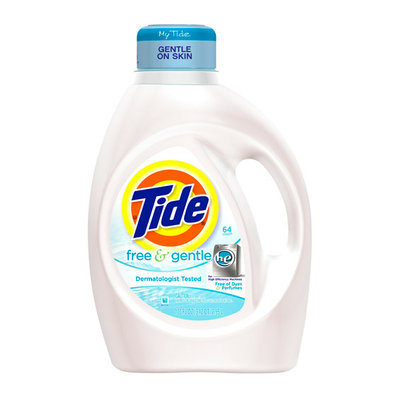Tide Free & Gentle Liquid Laundry Detergent for High Efficiency Machines