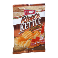 Herr's® Ripple Kettle Cooked Hot Sauce Potato Chips