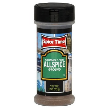 Spice Time Spice Allspice Ground, 3-Ounce (Pack of 12)