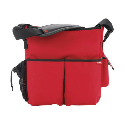 Skip Hop Duo Essential Diaper Bag Red by