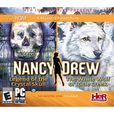 Her Interactive Nancy Drew Crystal Skull/The White Wolf of Icicle Creek 2-Pack