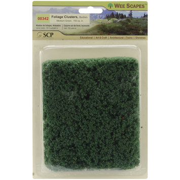 Scp SCP 342 Foliage Bushes 150 Square Inches-Medium Green
