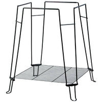 Prevue Hendryx Prevue Pet Products Clean Life Bird Cage Stand, Black