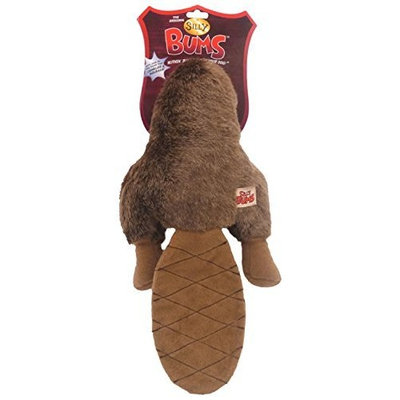 Romp Silly Bums Beaver Dog Toy