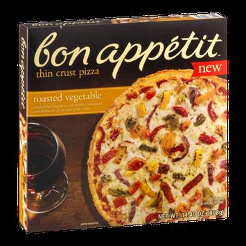 Bon Appetit Thin Crust Pizza Roasted Vegetable