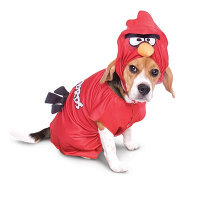 Party Magic Costumes Angry Birds Red Bird Pet Costume