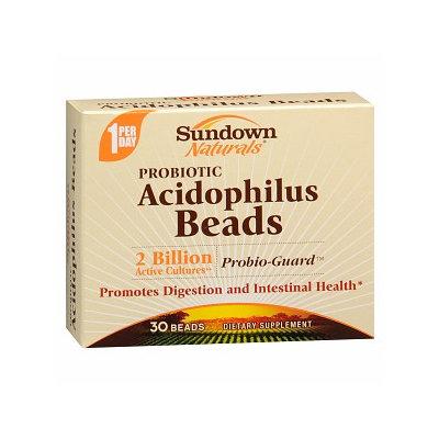 Sundown Naturals Probiotic Acidophilus Beads Dietary Supplement