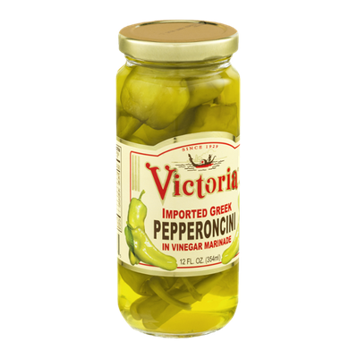 Victoria Imported Greek Pepperoncini