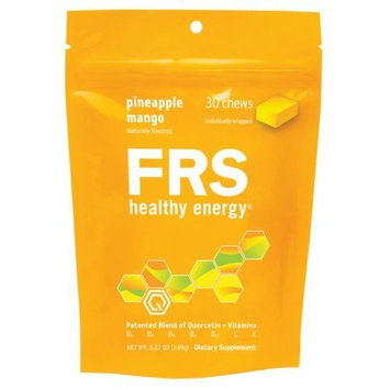 Frs Healthy Energy Pineapple Mango Chews, 5.27-Ounce (149g) Bag, One size