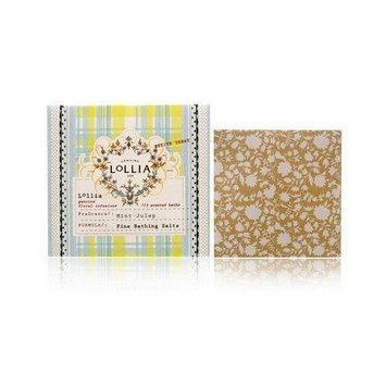 Lollia Mint Julep 1.5 oz Fine Bathing Salts