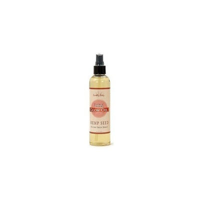 Earthly Body Hemp Seed Edible Glow Oil Skin Spray, 8 fl. oz., Cherry