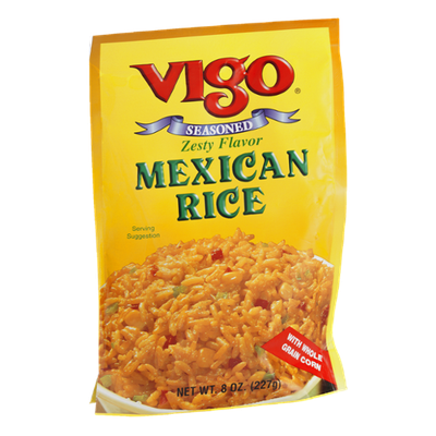 Vigo Mexican Rice Seasoned Zesty