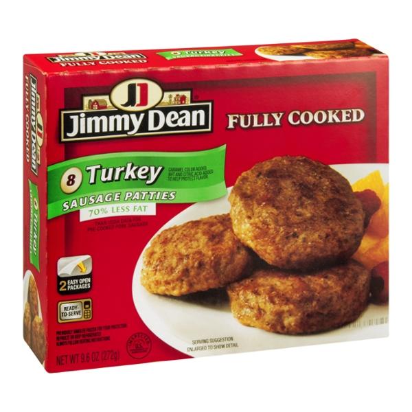 Jimmy Dean Sausage Patties Turkey - 8 CT