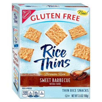 Mondelez Gluten Free Rice Thins Sweet Barbecue 3.5oz