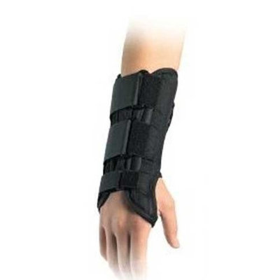 Medi-usa Mediven Orthopedic Wrist Brace: Left Black Large