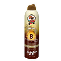 Australian Gold Continuous Spray with Instant Bronzer SPF 8