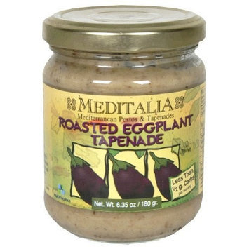 Meditalia Tapenade Roasted Eggplant Spread, 6.35 Ounce -- 6 per case.