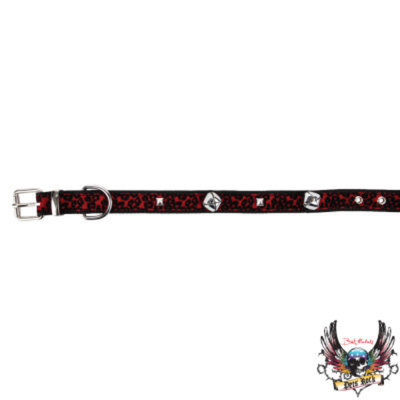 Bret Michaels Pets RockTM Cheetah & Bells Holiday Collar