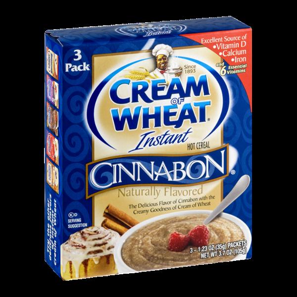 Cream of Wheat Instant Hot Cereal Cinnabon - 3 PK