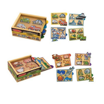 Melissa & Doug Mini Puzzle Pack Bundle