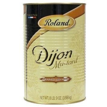 Roland Dijon Mustard Grained with Wine - 1 can, 8 lbs 9 oz