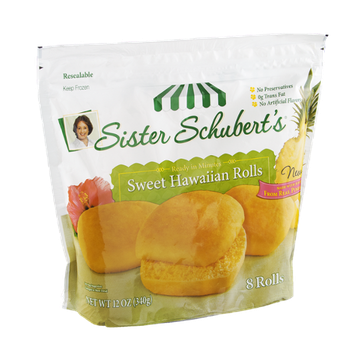 Sister Schubert's Rolls Sweet Hawaiian - 8 CT