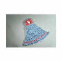 Rubbermaid Commercial Products Large Web Foot Wet Mop in Blue