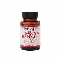 Twinlab Mega Bromelain Caps 600 mg