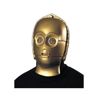 Rubie's Costume Co C3PO 1/2 PVC Mask (Standard)