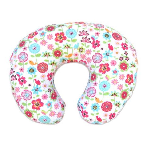 Slipcovered Pillow Backyard Bloom with $30 Bonus Gift by Boppy