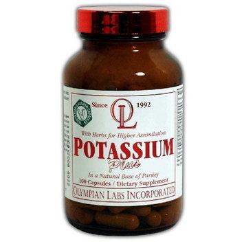 Olympian Labs Potassium Plus, 99mg (Pack of 2)