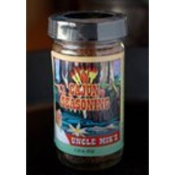 Uncle Mik's Gourmet Seasonings Cajun Seasoning with Himalayan Salt