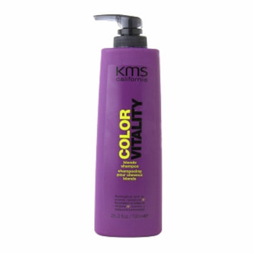KMS California Color Vitality Blonde Shampoo, 25.3 fl oz
