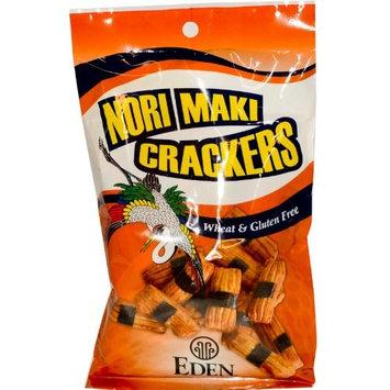 Eden Foods Mochi (Nori Maki) Crackers 2.5 oz. (Pack of 12)