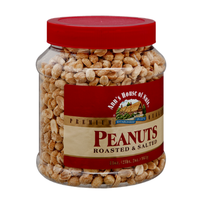 Ann's House of Nuts Roasted & Salted Peanuts