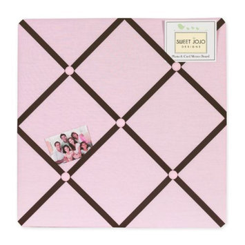 Sweet Jojo Designs Hotel Pink and Brown Collection Memo Board