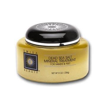 Swisa Beauty Dead Sea Salt Mineral Treatment, For Hands & Feet, 8-Ounce