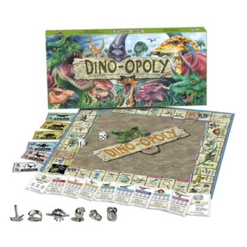 Late for the Sky Productions Late for the Sky DINO-OPOLY Board Game