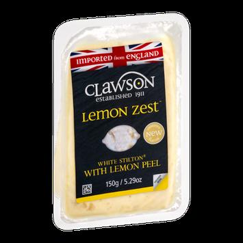 Clawson Lemon Zest White Stilton with Lemon Peel