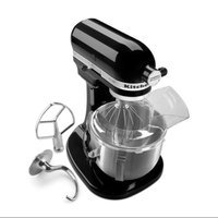 KitchenAid KSM500PSOB Onyx Black Pro 500 Series 5-Quart Stand Mixer