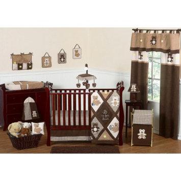 Sweet JoJo Designs 11pc Teddy Bear Crib Set - Brown