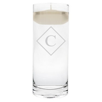 Cathy's Concepts Diamond Initial Floating Unity Candle C